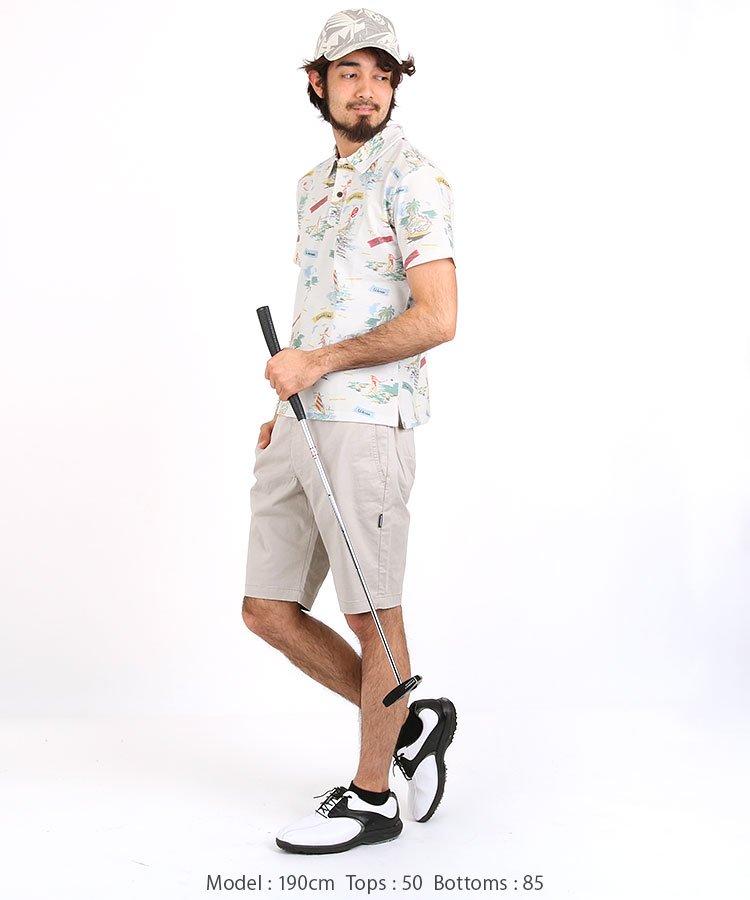 RO チノストレッチショートパンツのコーディネート写真