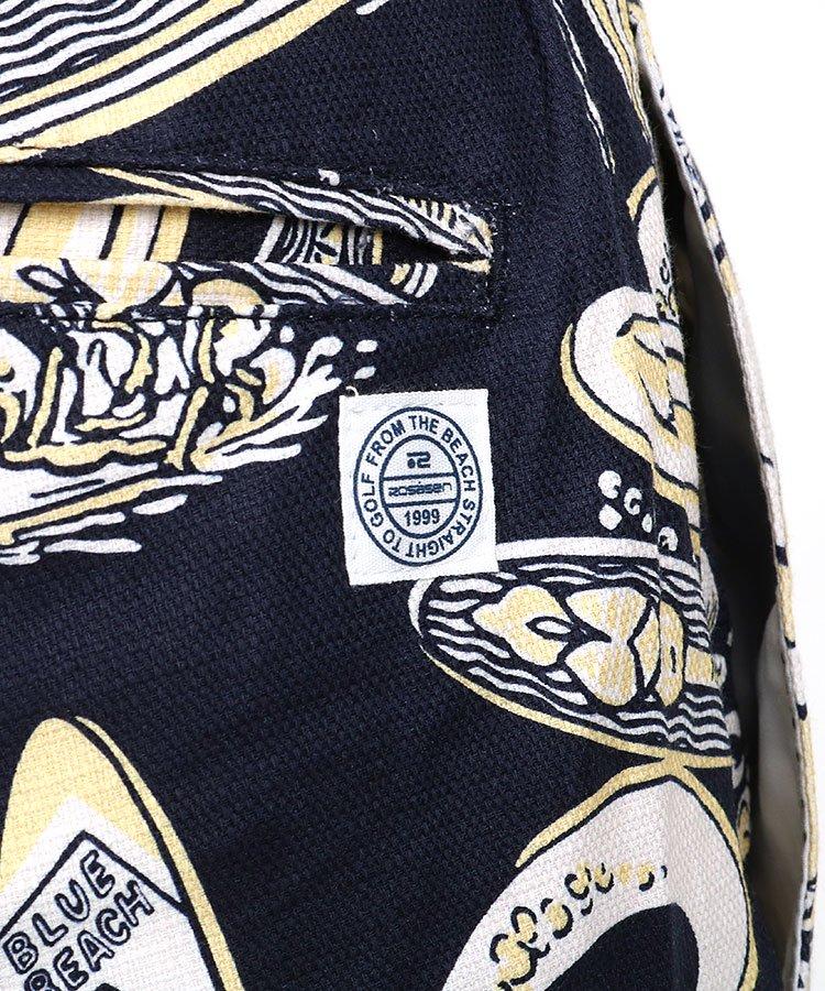 RO サーフボード柄ストレッチパンツのコーディネート写真