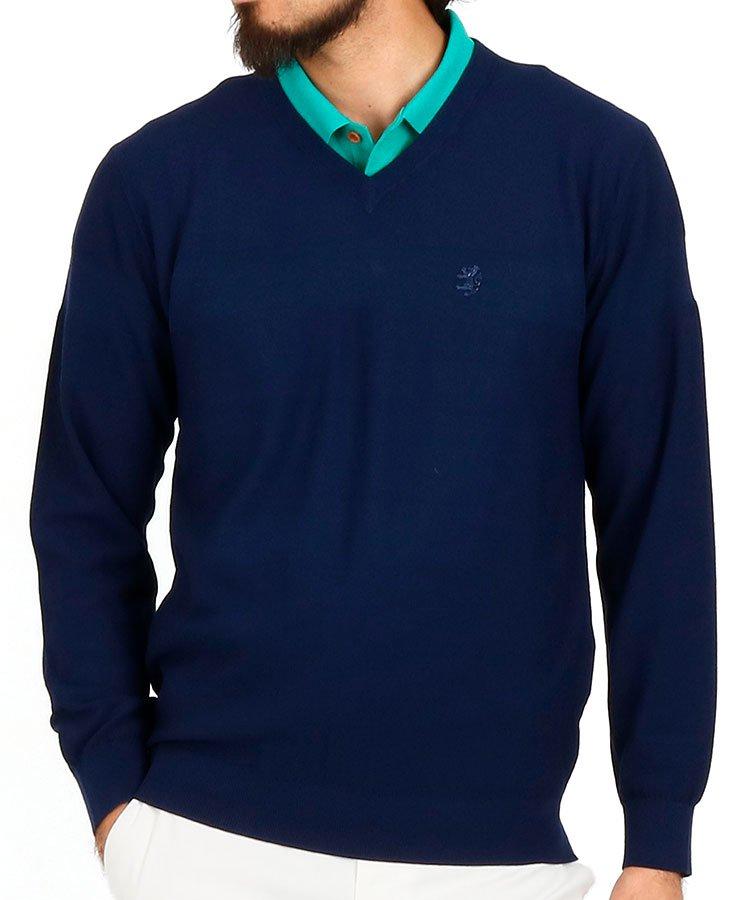 アドミラルゴルフ AM 編みラインサマーセーター