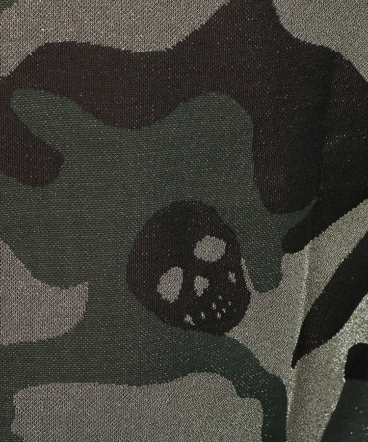ML 【BLACKBOX】ショルダーライングリッターポロのコーディネート写真