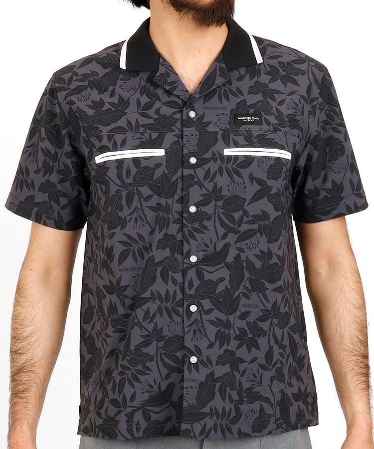 マーク&ロナ 半袖ポロシャツ・シャツ ML 高機能ボウリングシャツ