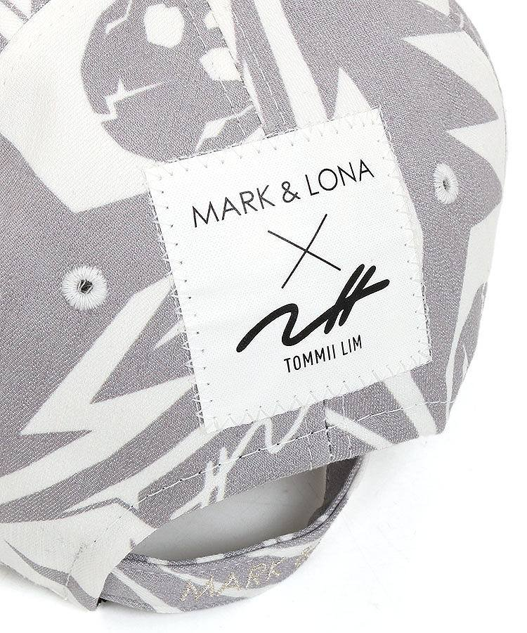 ML トライバル風ボタニカルSKULLキャップのコーディネート写真
