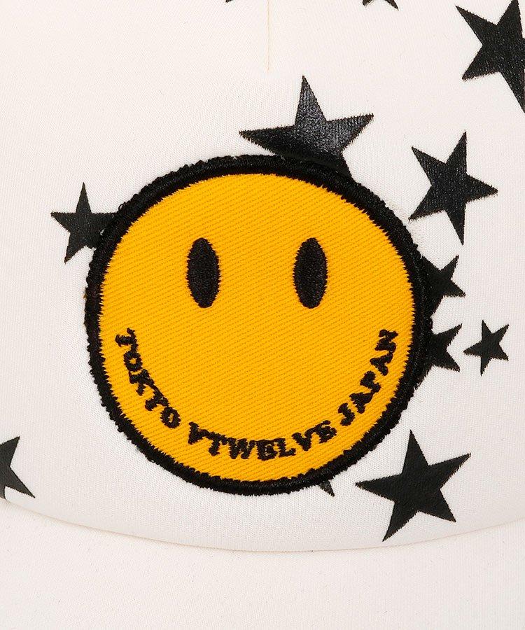 VI SMILE×ランダムSTAR★メッシュキャップのコーディネート写真