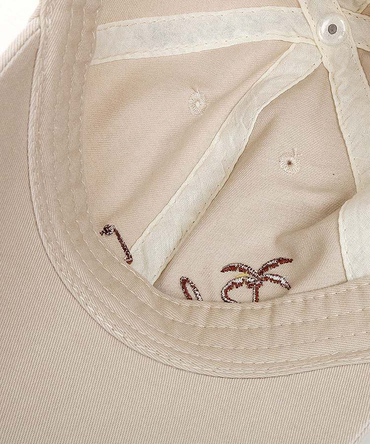 PA Front刺繍コットンキャップのコーディネート写真