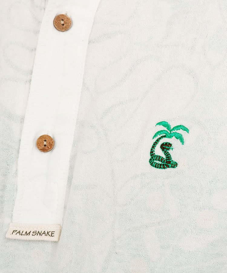 PA 裏アロハ総パイルポロのコーディネート写真