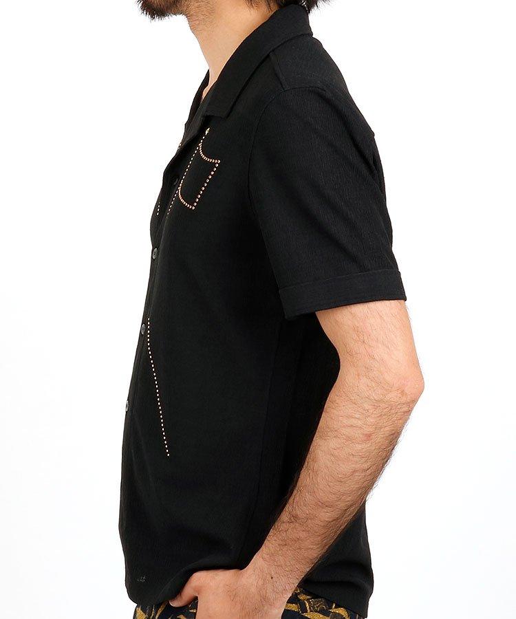 RD フラッグスタッズ開襟シャツのコーディネート写真