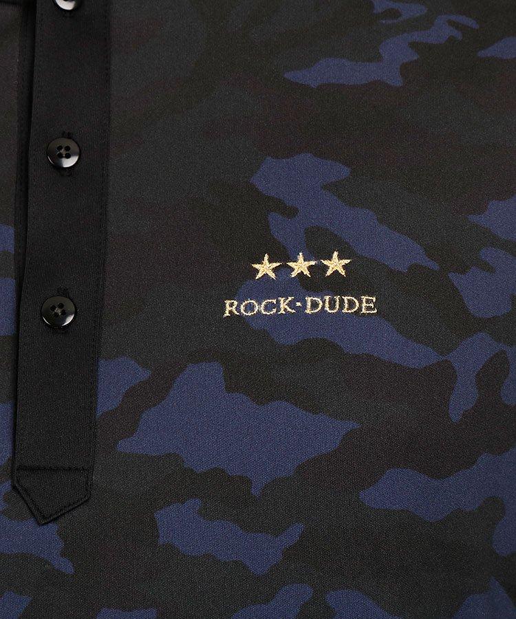RD ダークカモフラサイドラインポロのコーディネート写真