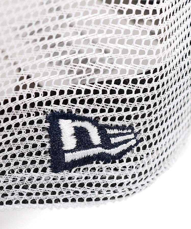 NE Frontパネル抗菌切替メッシュキャップ(ブルー)のコーディネート写真