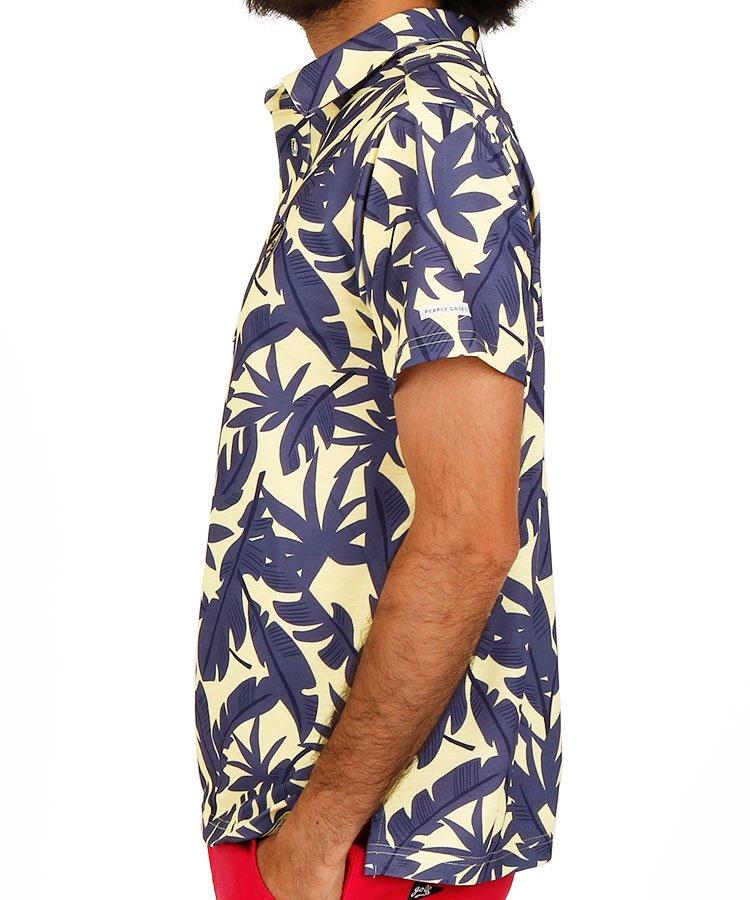 JB policottボタニカルポロのコーディネート写真