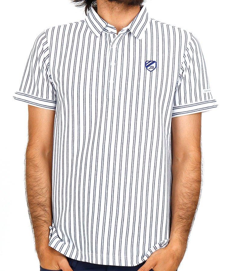 ジャックバニー 半袖ポロシャツ・シャツ JB ダブルストライプシャツ