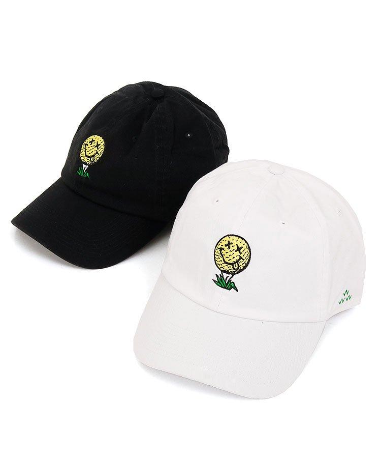 バーズオブコンドル【ゴルフ小物】 BC SMILEボール刺繍コットンキャップ