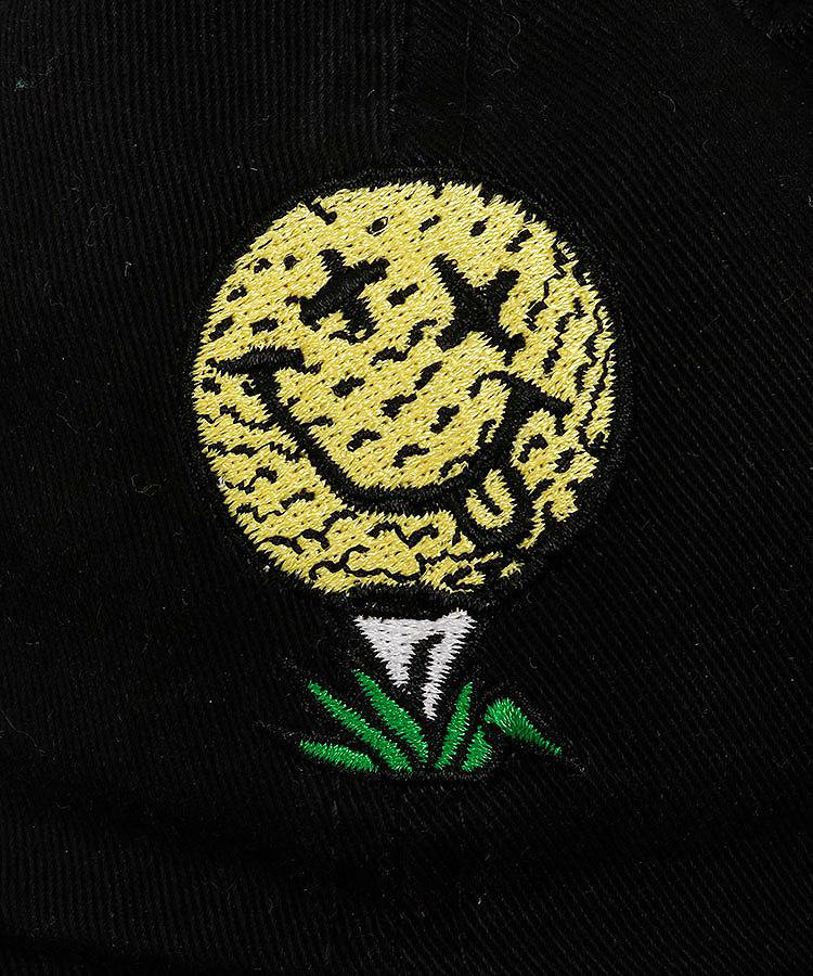 BC SMILEボール刺繍コットンキャップのコーディネート写真