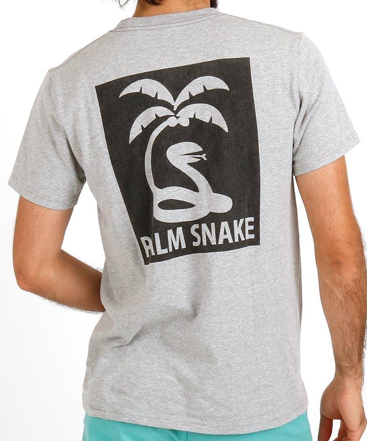 パームスネイク PA スクエアPrintTシャツ