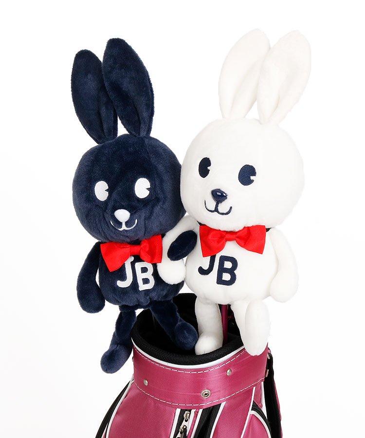 ジャックバニー 18秋冬新作 JB ふわBunny★立体ヘッドカバー(DR)