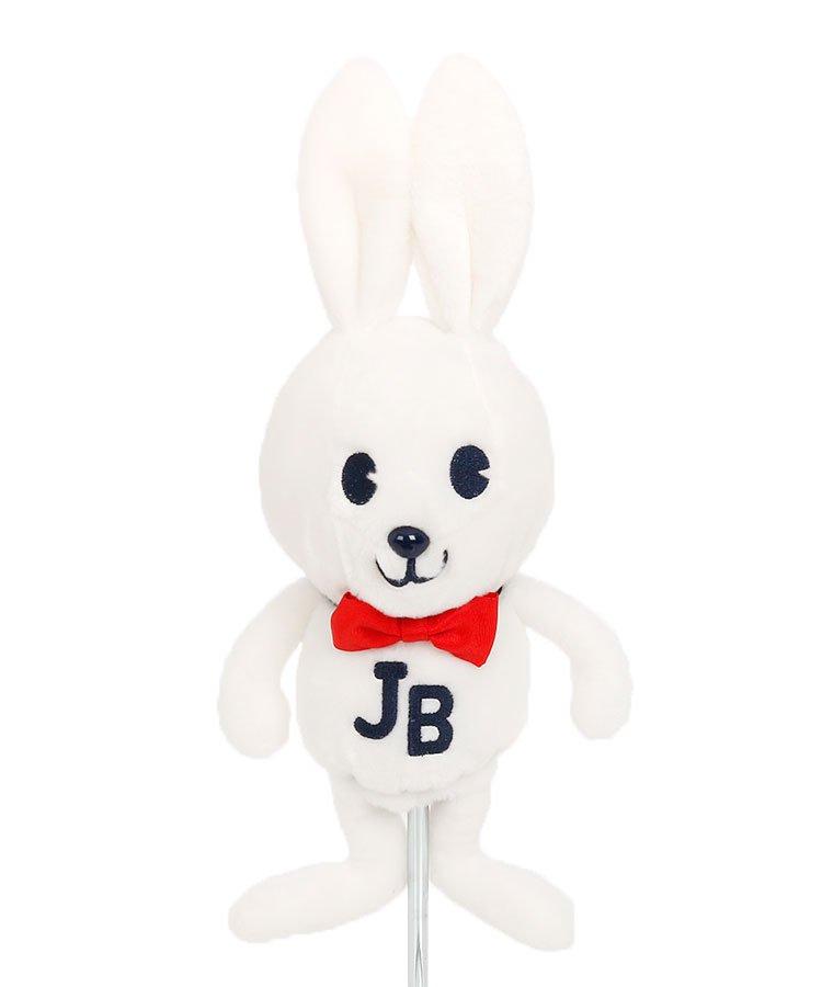 ジャックバニー 18秋冬新作 JB ふわBunny★立体ヘッドカバー(FW)