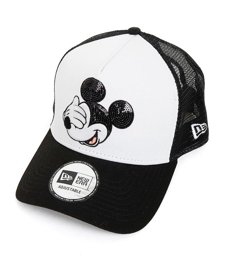 ニューエラ(NEW ERA) NE Disneyコラボ★Mickey刺しゅう配色メッシュキャップ