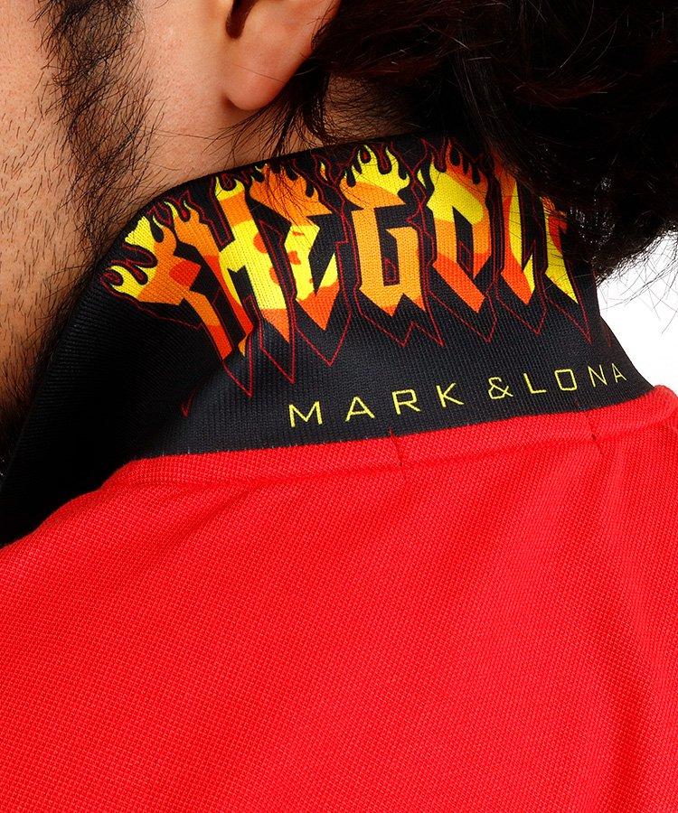 ML 【BLACKBOX】Fireデザインポロのコーディネート写真