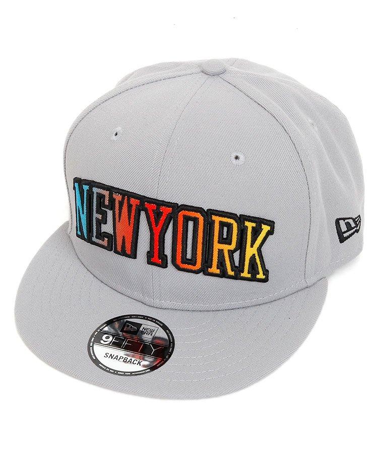 ニューエラ NE 「NEWYORK」★平つばキャップ