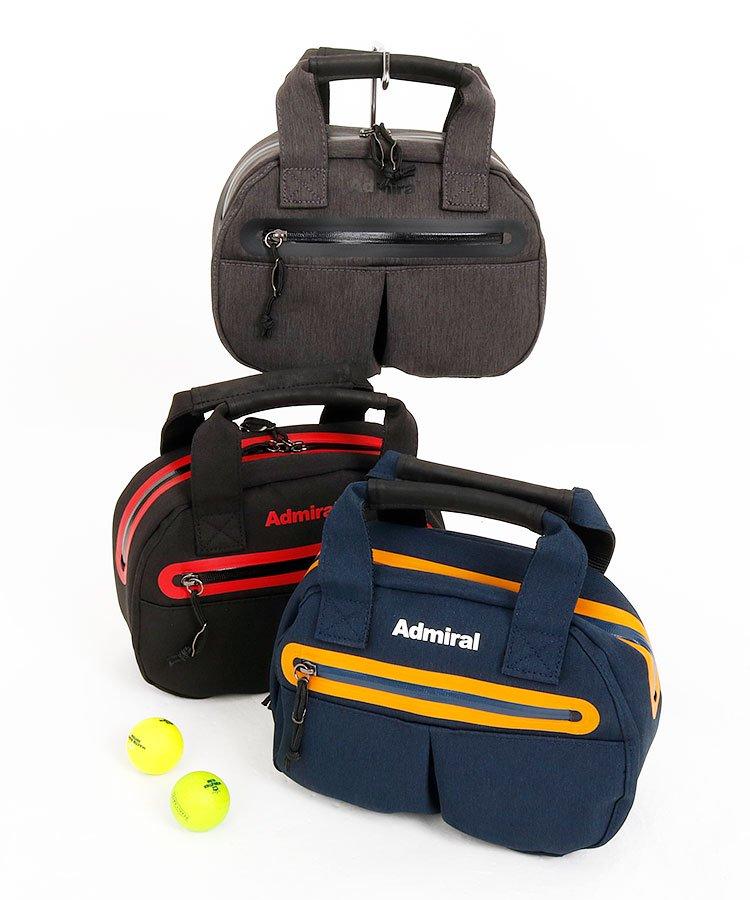 アドミラルゴルフ AM Simple◆ロゴPrintカートバッグ