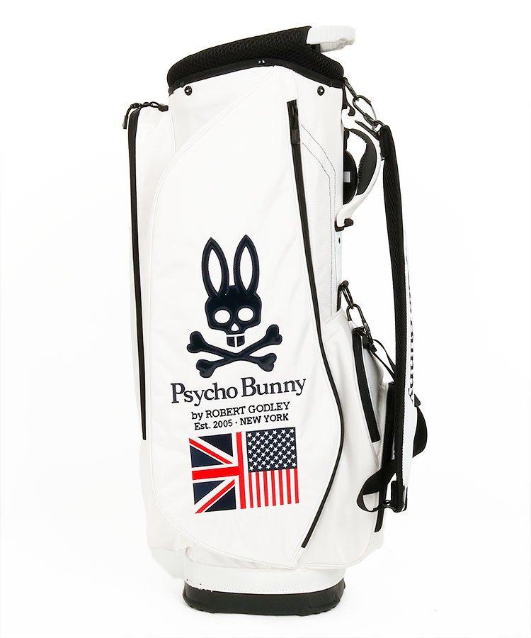 サイコバニー PS 定番Bunnyロゴ×UJ刺繍キャディ(ホワイト)