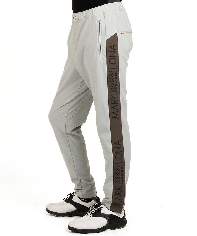 ML SIDEジャガードロゴジャージーパンツのコーディネート写真