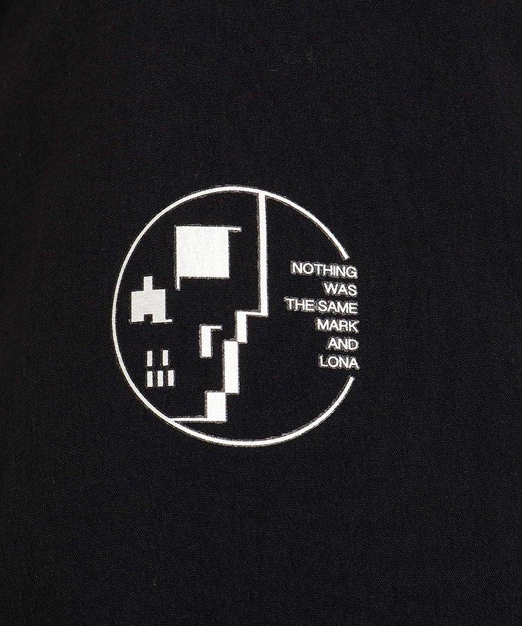 ML 【BLACKBOX】裏プリズムMA1ブルゾンのコーディネート写真
