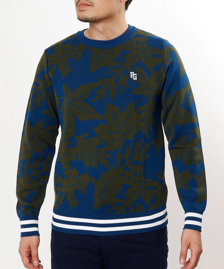 パーリーゲイツ PG リーフジャガードセーター