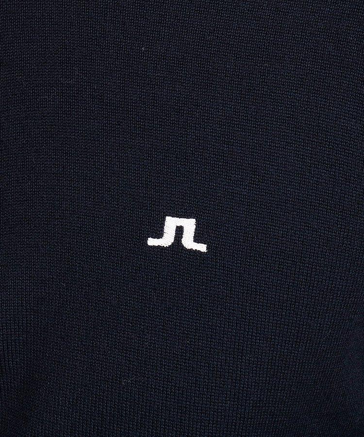 JL ハーフZIPシンプルニットのコーディネート写真