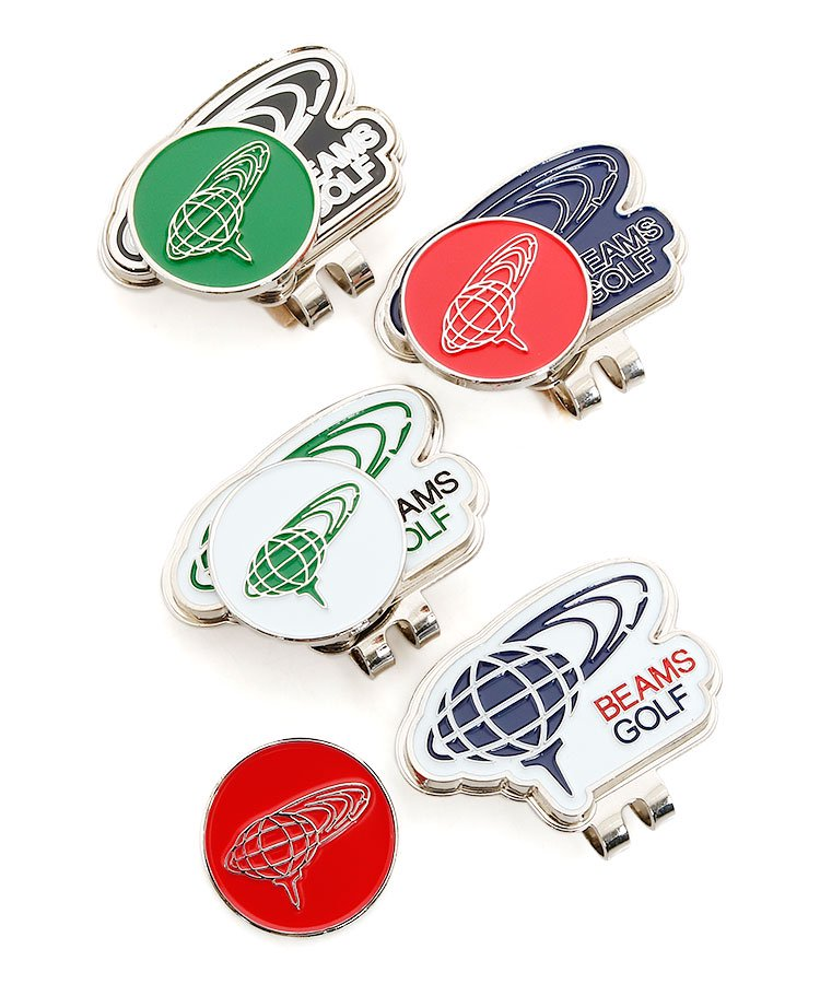 BEAMS BE ロゴ型台座◆リバーシブルトップマーカー