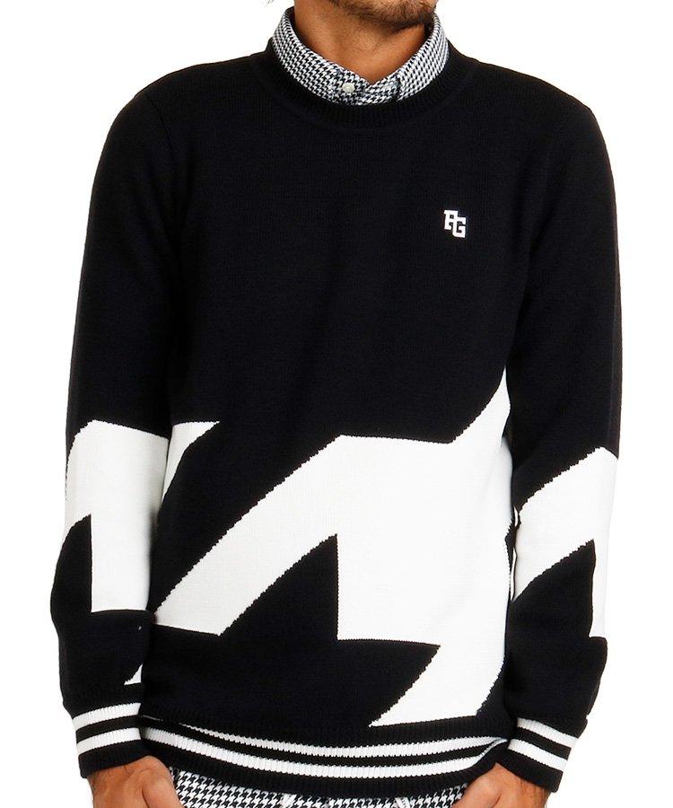 パーリーゲイツ PG 【カタログ掲載】BIG千鳥デザインセーター