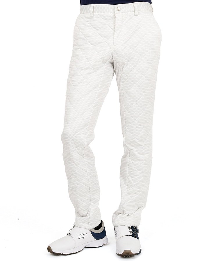 CA 人気★ZAMZAライト中綿パンツのコーディネート写真
