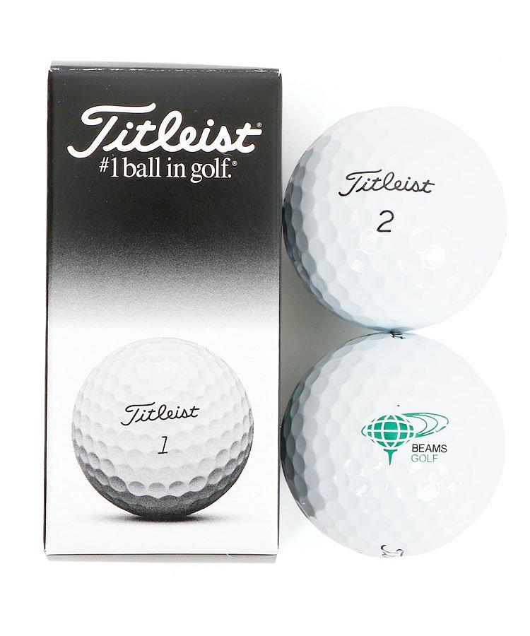 BEAMS BE Titleistコラボ◆ゴルフボール(ホワイト)