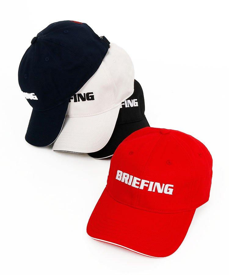 ブリーフィングゴルフ BR ロゴ刺繍キャップ