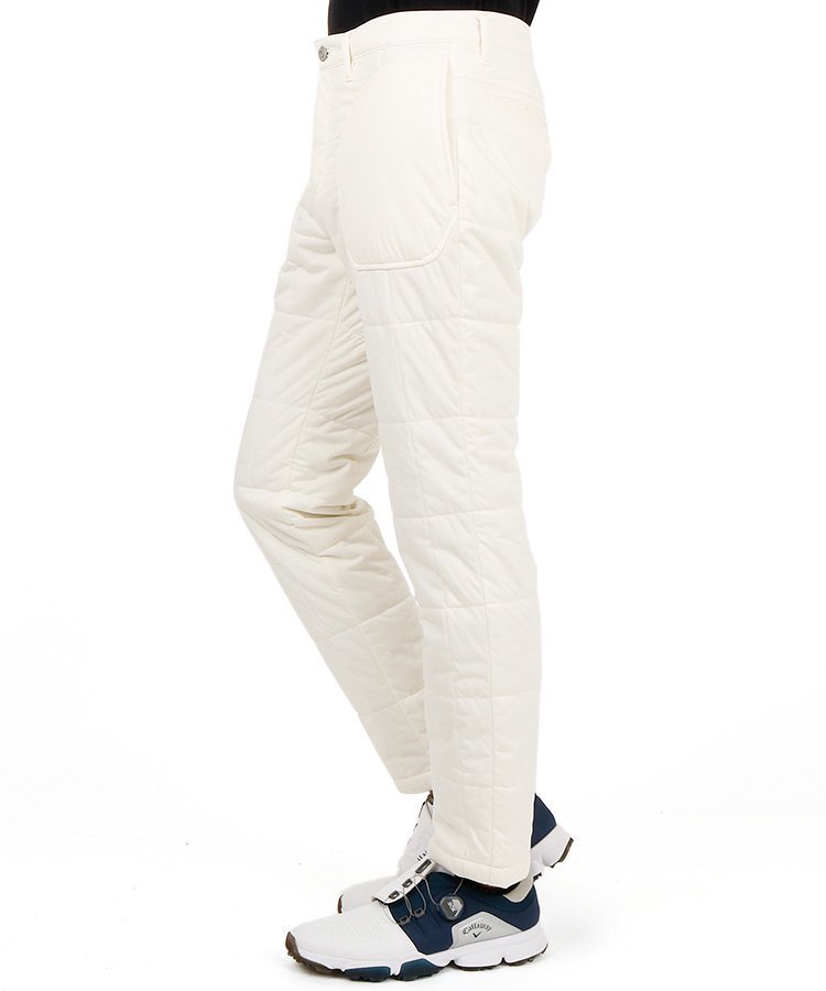 JB 撥水★スクエアキルティング中綿パンツのコーディネート写真