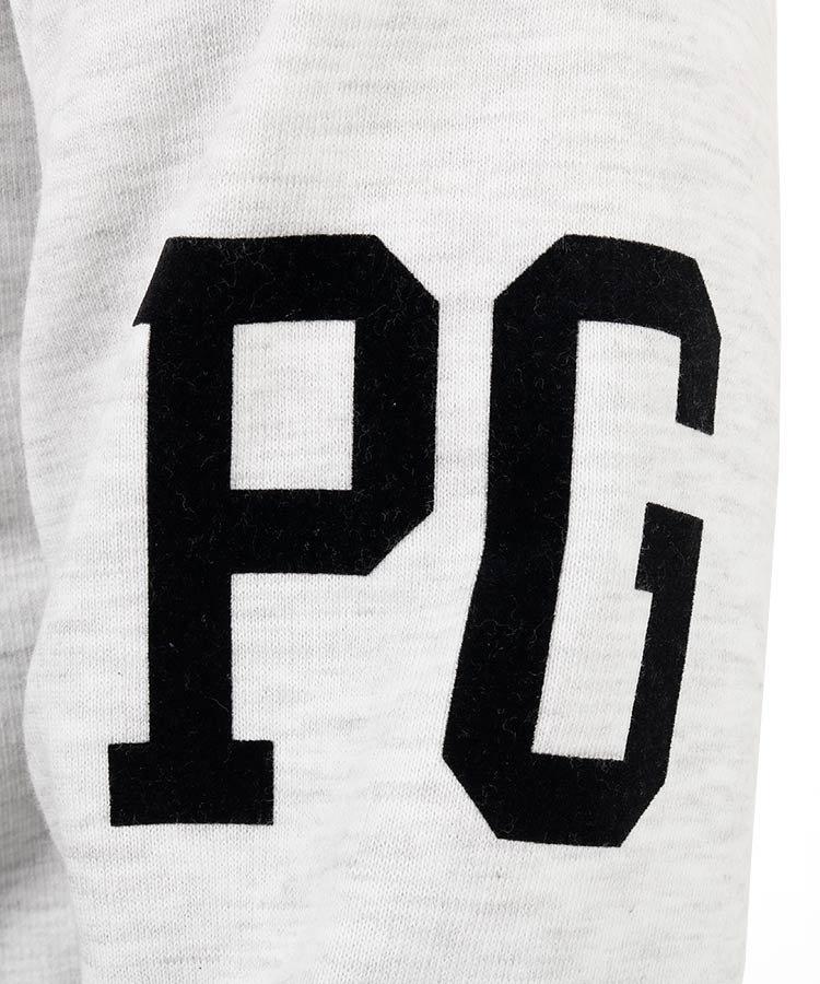 PG BIG89◆裏起毛プルパーカーのコーディネート写真