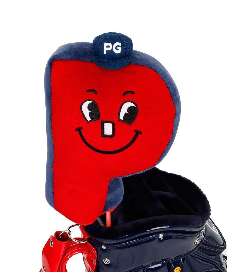 パーリーゲイツ19春夏 PG PG型Face♪ヘッドカバー(DR)