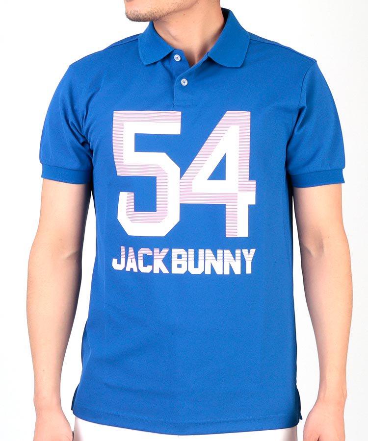 ジャックバニー 19春夏新作 JB 「54」ビッグロゴ◆ポロシャツ