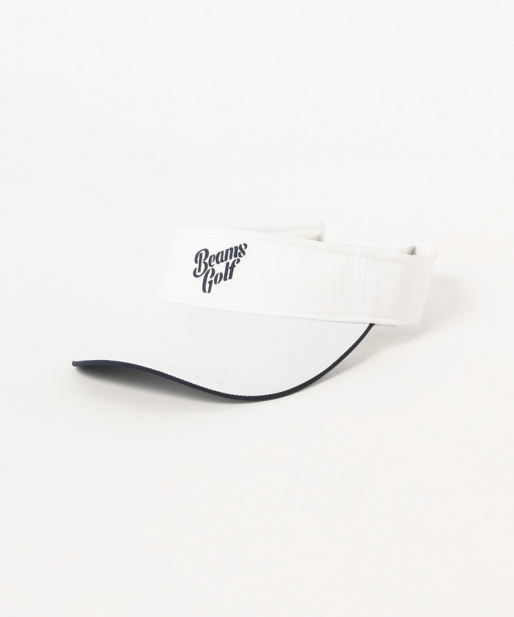 ビームスゴルフ 19春夏新作 BE シンプルデザインバイザー