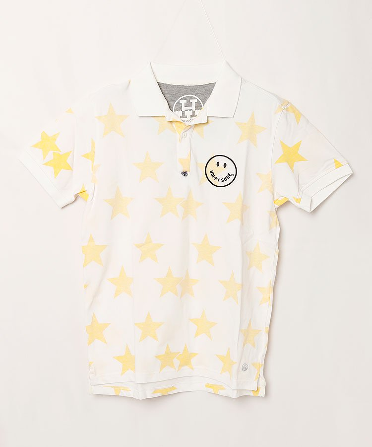 ホーンガーメント 19春夏新作 HO スタープリントポロシャツ