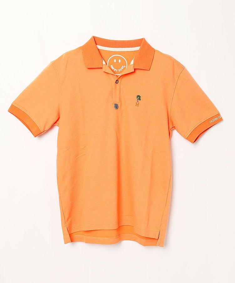 ホーンガーメント HO ヤシの木刺しゅうポロシャツ
