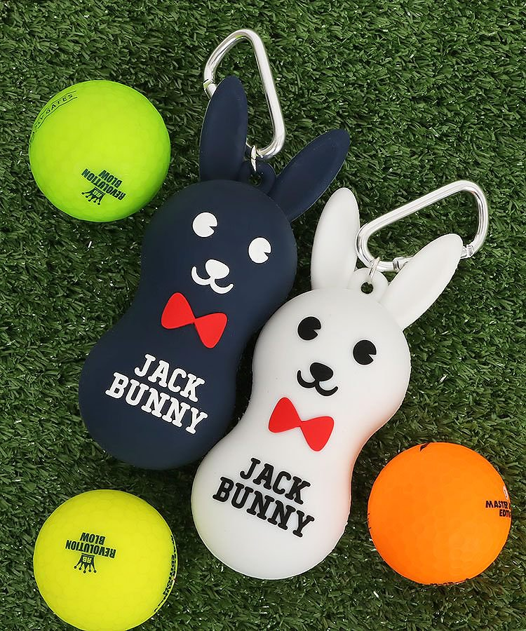 ジャックバニー 19秋冬新作 JB ひょうたん型Bunny♪シリコンボールホルダー