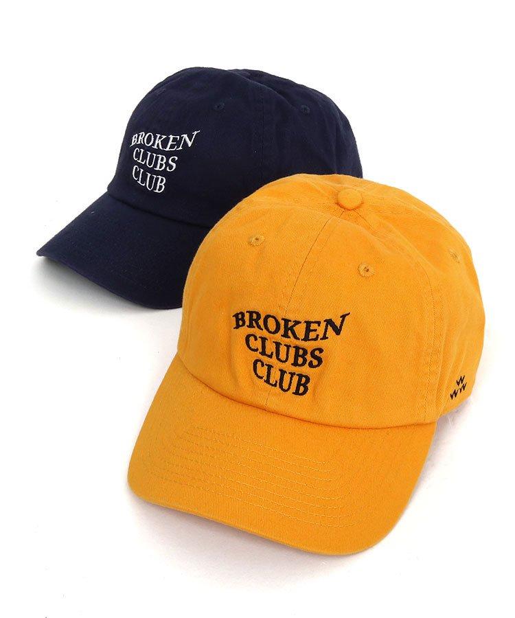 バーズオブコンドル 19秋冬新作 BC BrokenClubsClub刺しゅう柔らかキャップ