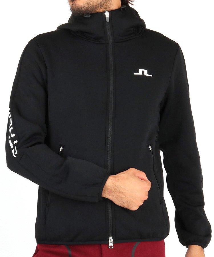ジェイリンドバーグ 19秋冬新作 JL 裏フリースボンディングパーカー