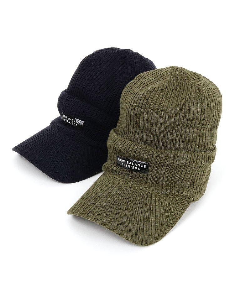 ニューバランスゴルフ NB ニット帽×ニットバイザーコンビ