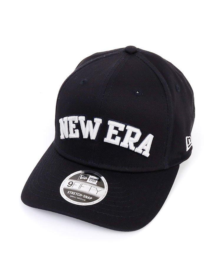 NE 定番系◆「NEWERA」パネル刺繍キャップ