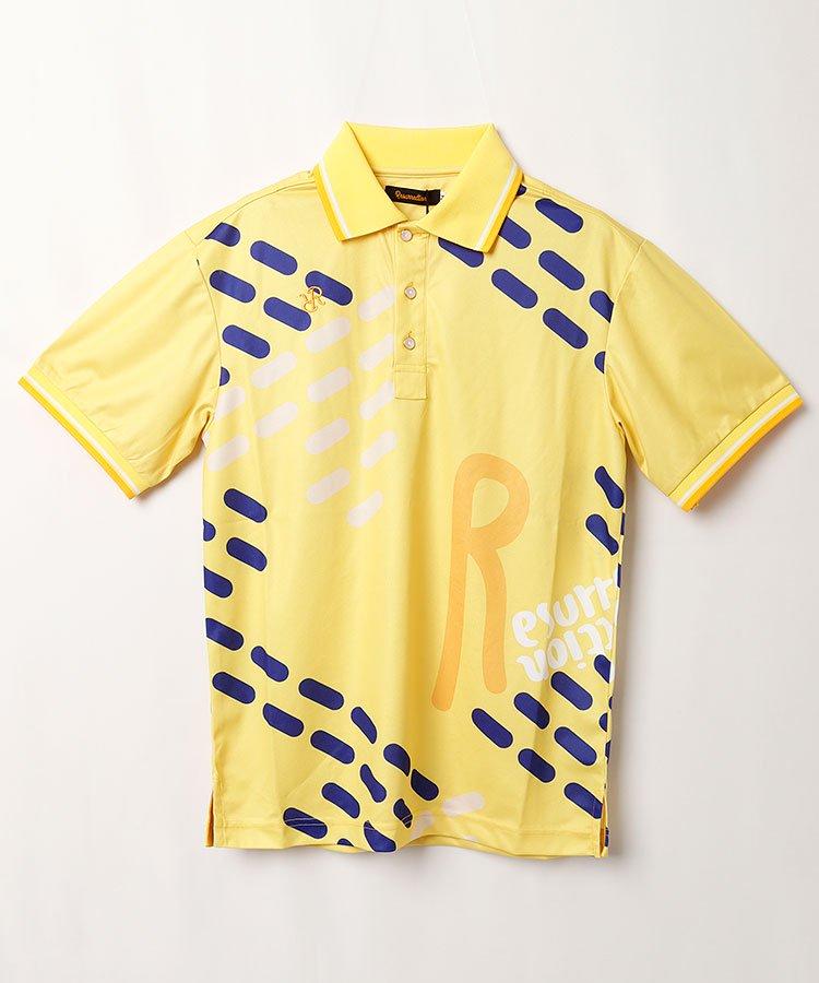 レザレクション 20春夏新作 RR BIGロゴ半袖ポロシャツ