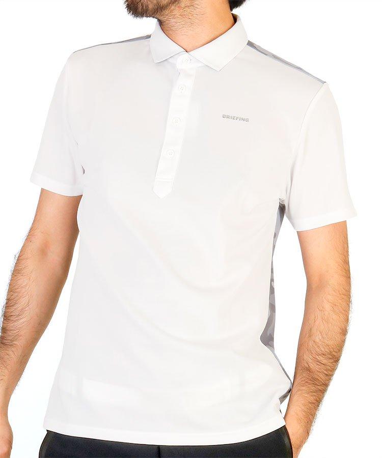 ブリーフィングゴルフ 20春夏新作 BR バックカモプリントポロシャツ