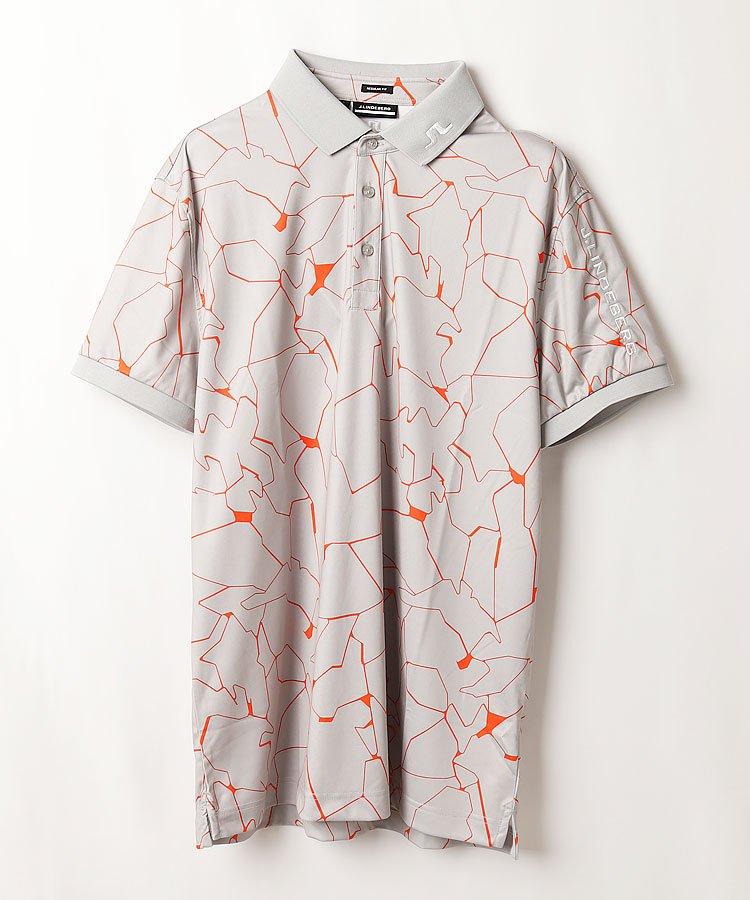 HIGUMAのイチオシ内商品 ジェイリンドバーグ JL 吸水速乾◆グラフィックPrint半袖ポロシャツ