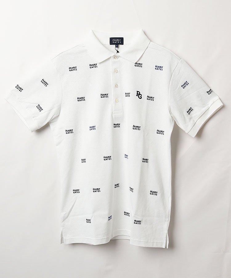 パーリーゲイツ PG DRYMASTER◆2段ロゴ半袖ポロシャツ