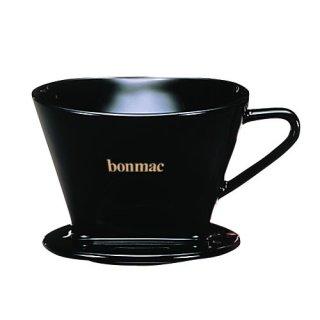 【BONMAK/ボンマック】扇型コーヒードリッパー CD-2B 2〜4杯用(黒)